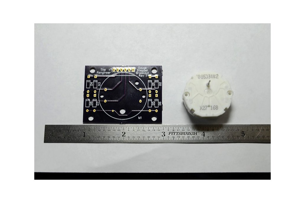 Analog Gauge Stepper Breakout Board 4