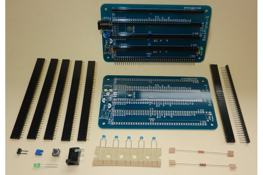 Backplane 5 for RC2014 - Z80 Homebrew Computer
