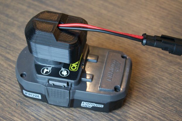 Ryobi Power Supply Adapter w/ Weatherproof Connect
