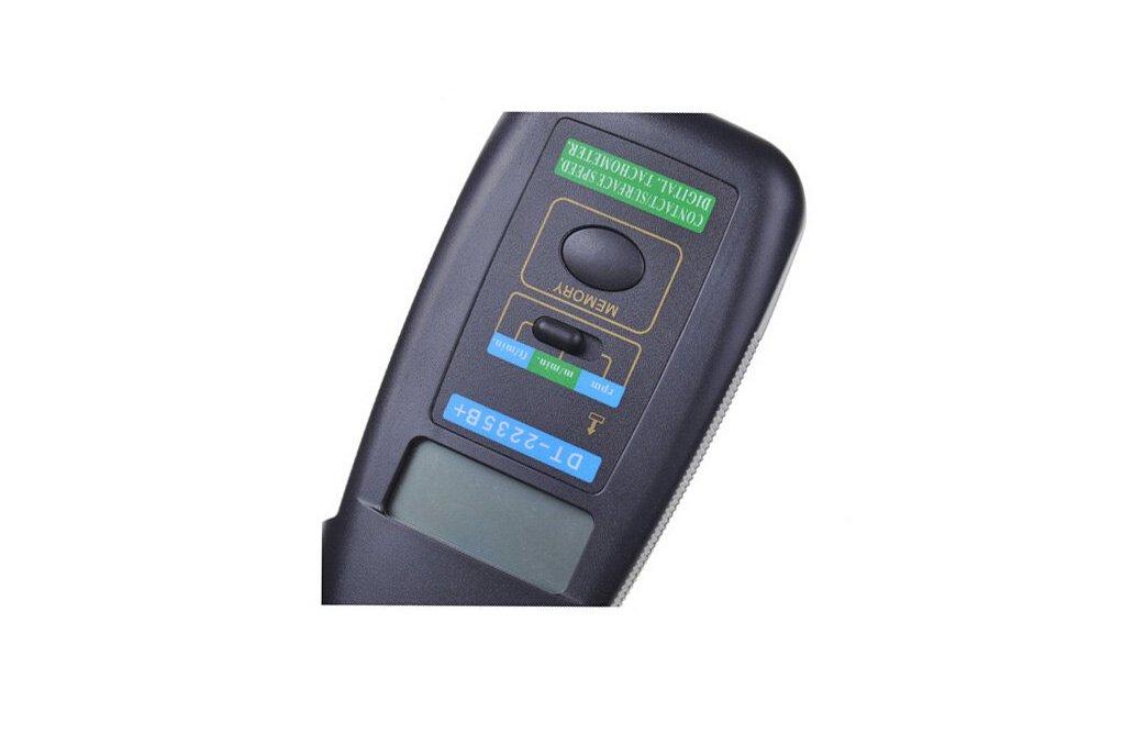 Contact Speed Digital Tachometer & 4
