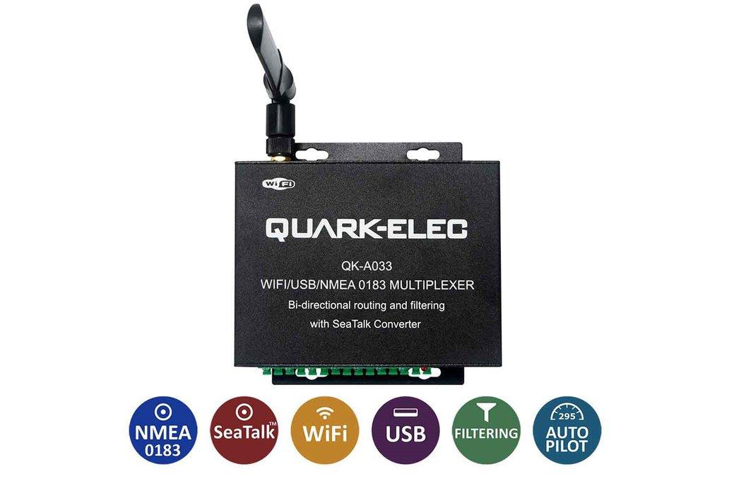 QK-A033 Bi-directional WiFi Multiplexer (Marine) 1