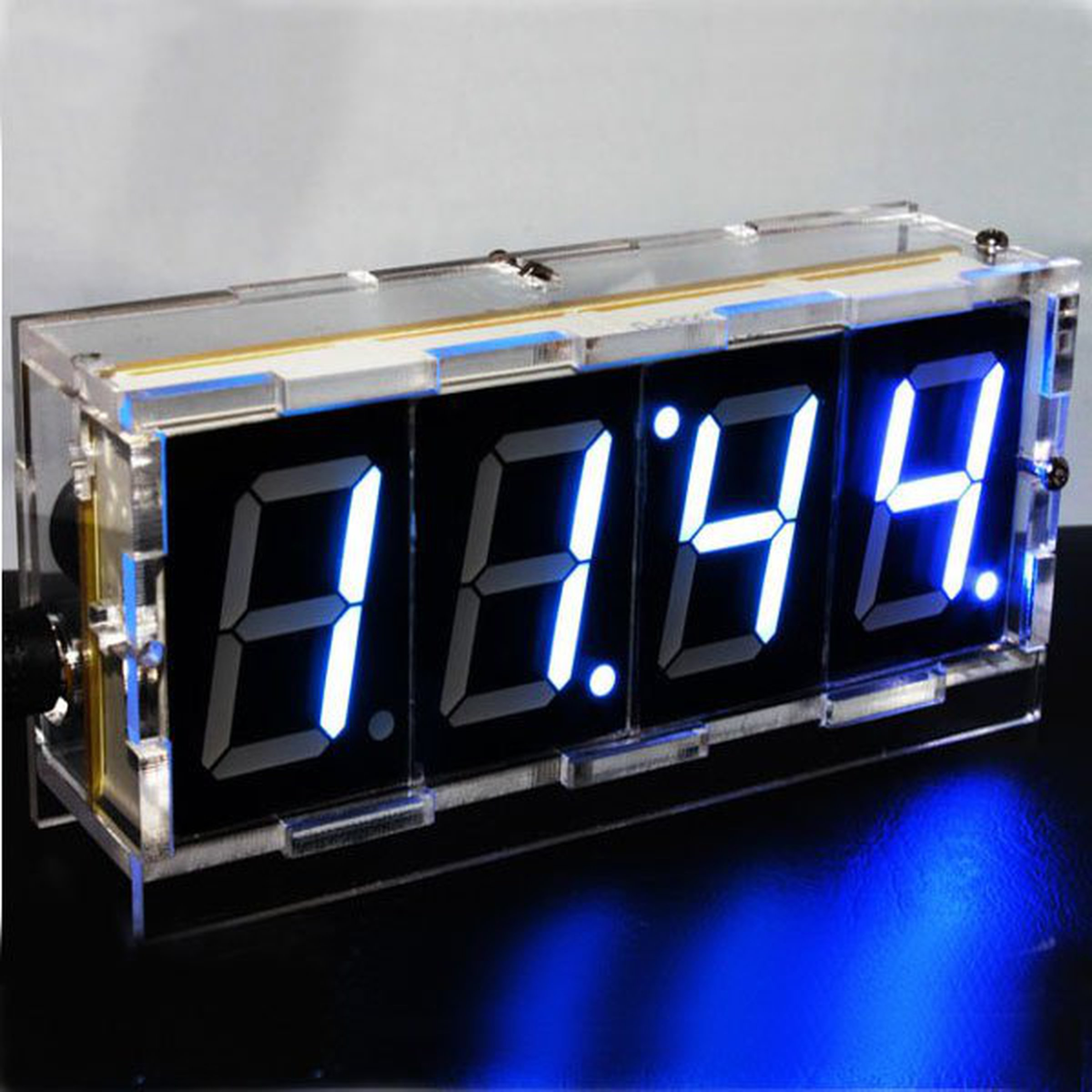 Kits on tindie diy 4 digit led electronic clock kit large screen solutioingenieria Images