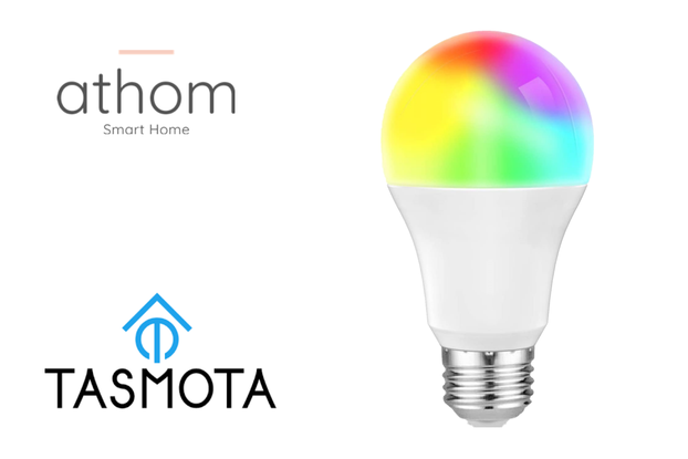 pre flashed Tasmota WiFi Smart Bulb