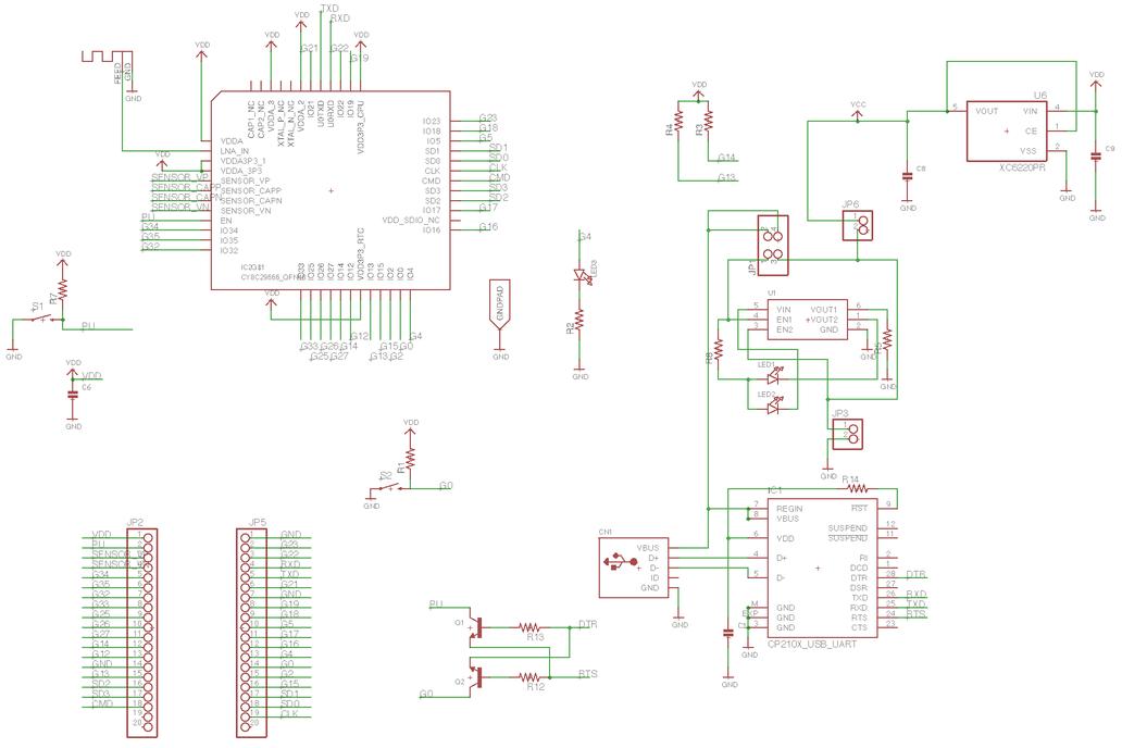 ESP32-PICO Motherboard 5