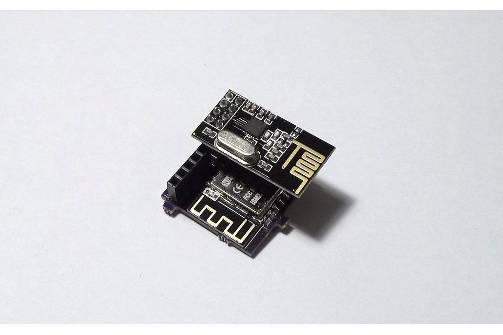 ESP8266 + nRF2401 wireless development kit 1