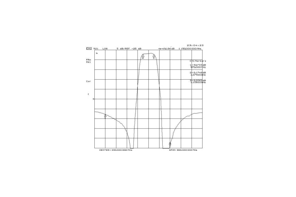 ADS-B Bandpass Filter Band Pass 1090 MHz