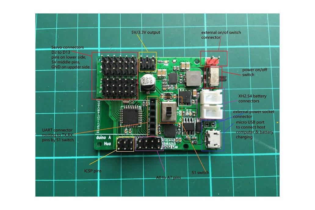 Powerful Arduino Nano Compatible board for Robotic 2
