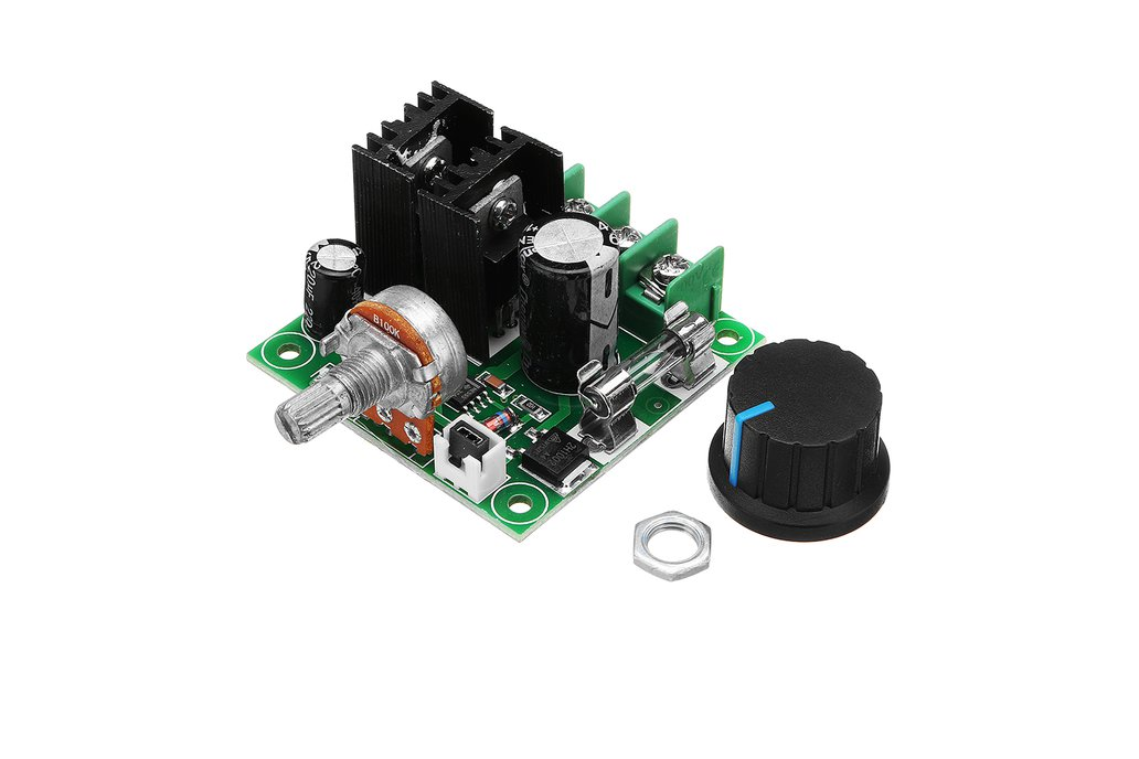 Motor Speed Controller  Module With Knob 10