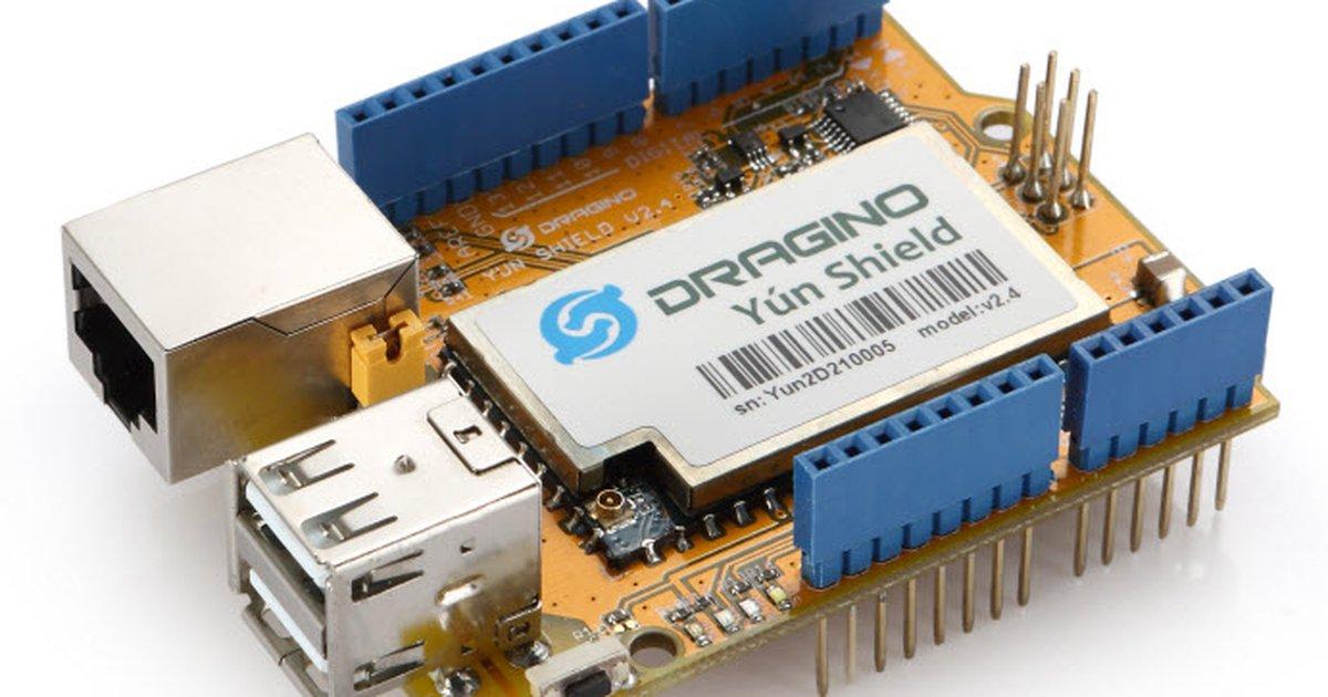 Arduino yun shield v from dragino tech on tindie