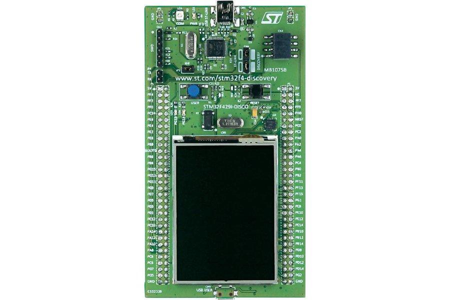 STMicroelectronics STM32F429I-DISCO dev board
