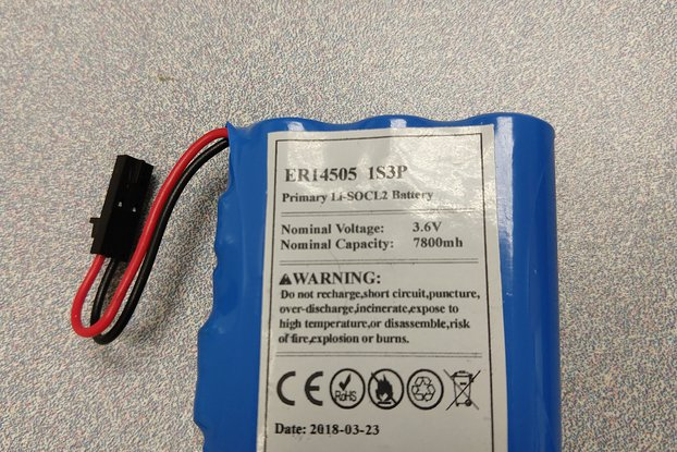 3.6V 7800mAh battery pack