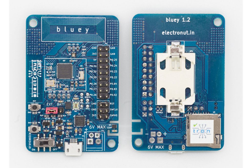 Bluey nRF52832 BLE development board 1