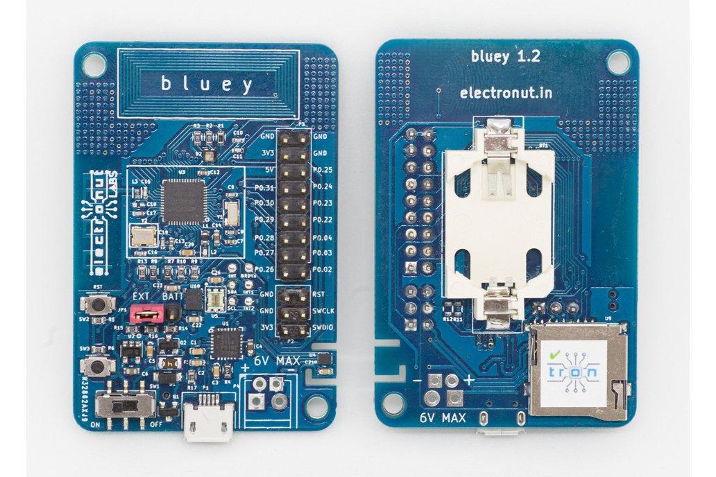 Bluey nRF52832 BLE development board 1