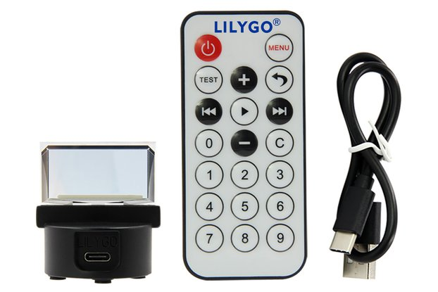 LILYGO TTV transparent screen OLED