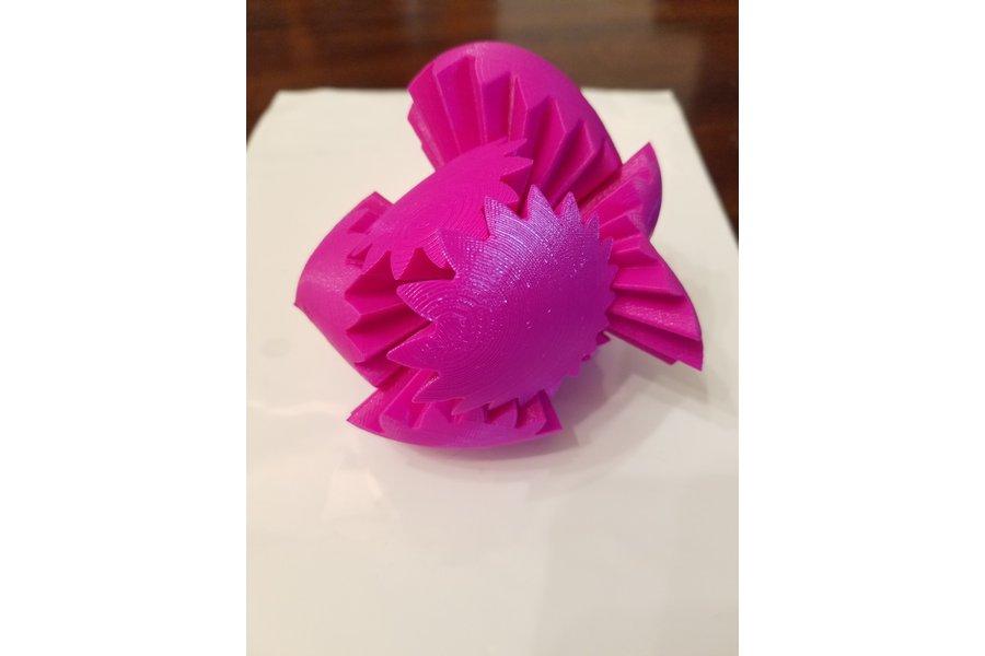 3D Printed Heart Gear