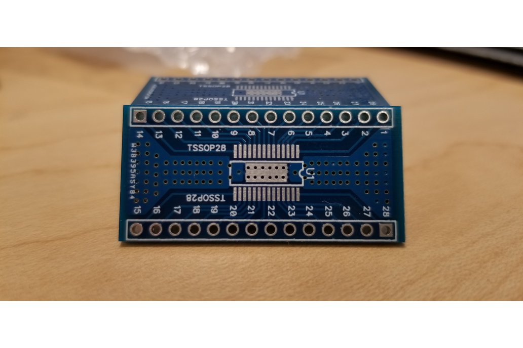 TSSOP28 Breadboard Breakout (With Thermal Pads) 1