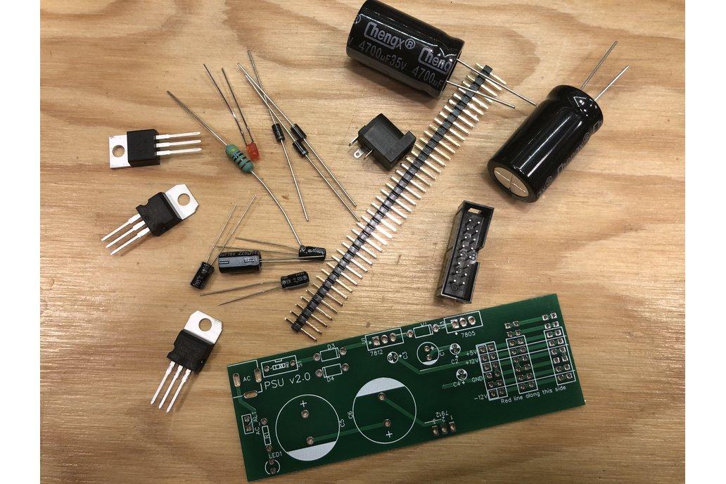 +/-12V and 5V Powersupply for Eurorack 1