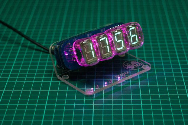 VFD ARDUINO / Nixie tube clock