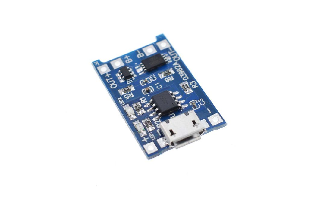 Micro USB 18650 Lithium Battery Charging Board 1