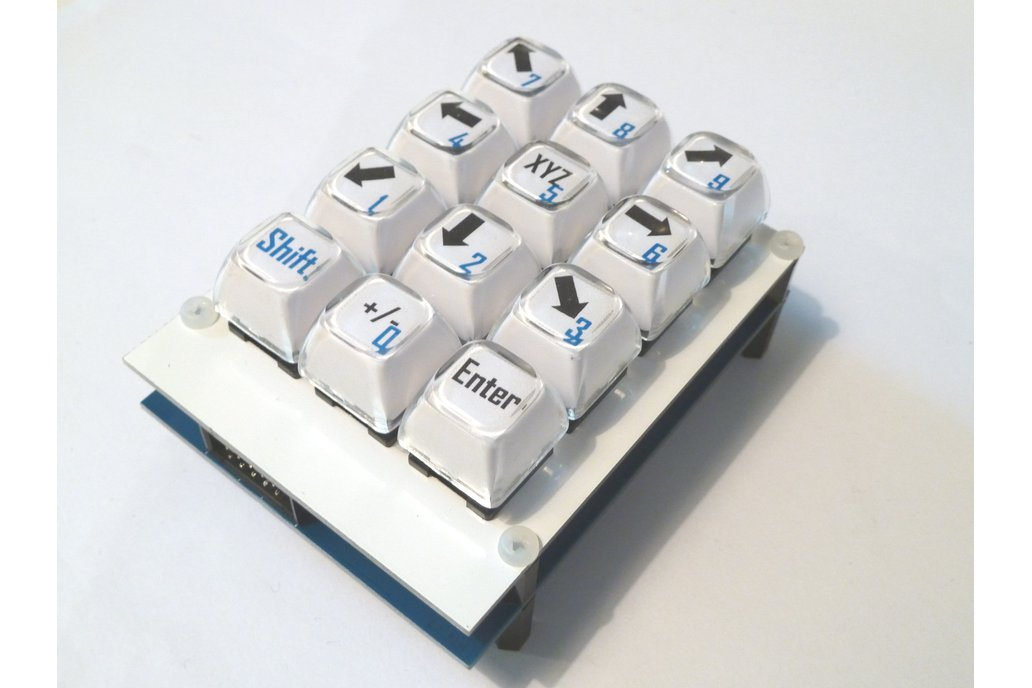 Customizable Keyboard shield with long stroke keys 3