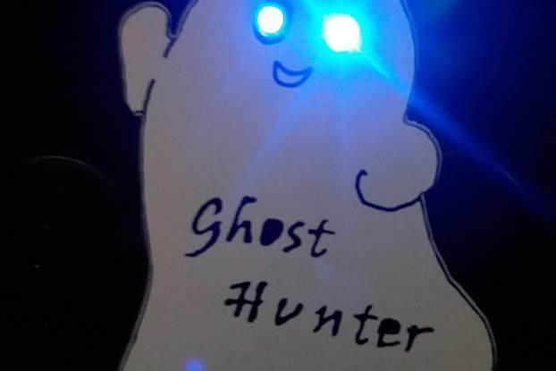 "Ghost Pin  -  ""Ghost Hunter"""