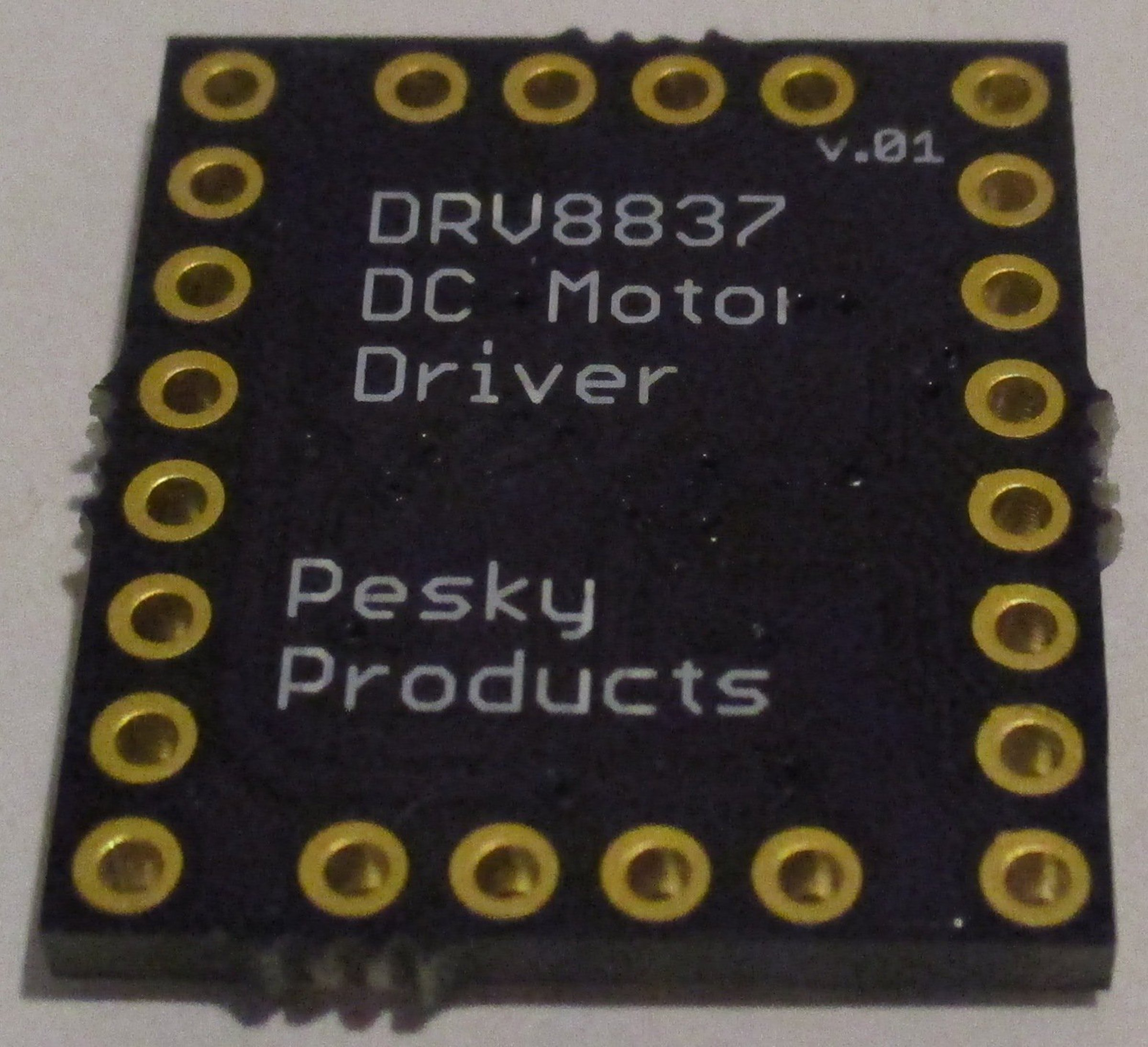 Drv8837 H Bridge Dc Motor Driver From Pesky Products On Tindie Diagram Further Simple Circuit 2