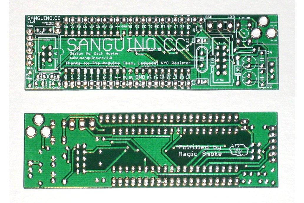 Sanguino ATmega1284P Development Board PCB 1