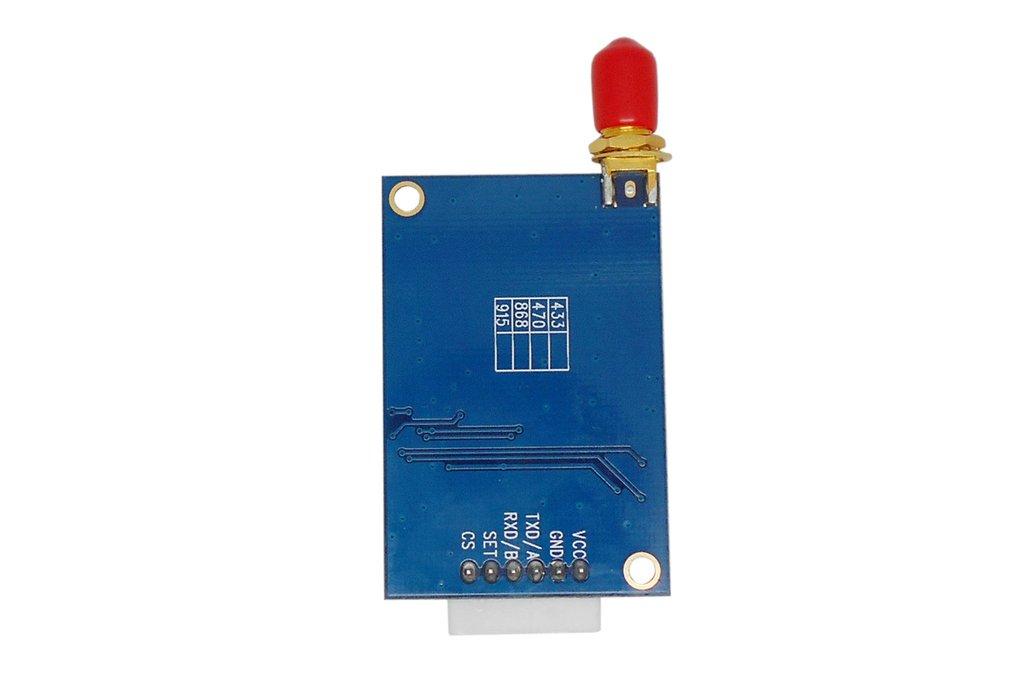 2pcs Lora611 433MHz TTL interface 100mW RF Module  4