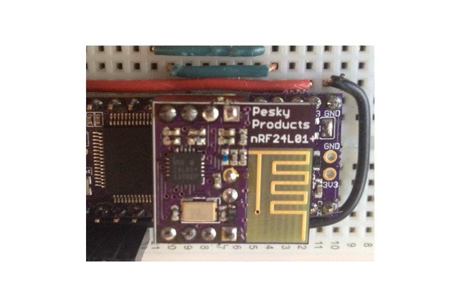nRF24L01+ add-on for Teensy 3.1