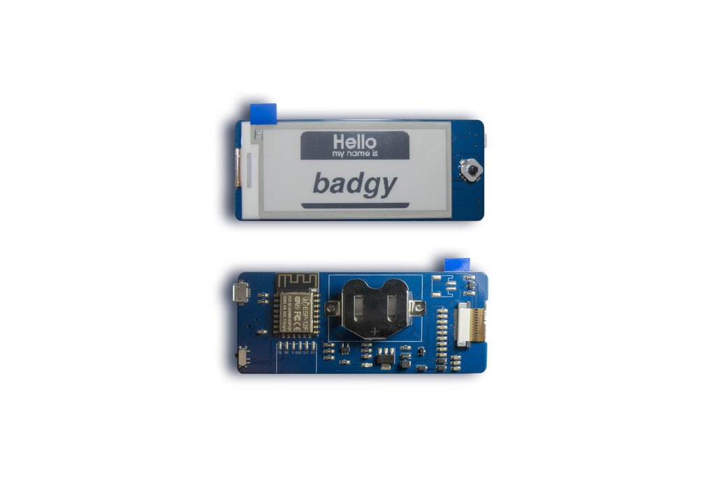 Badgy - IoT Badge 1