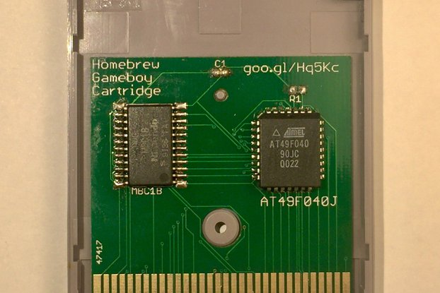 Homebrew Gameboy Cartridge
