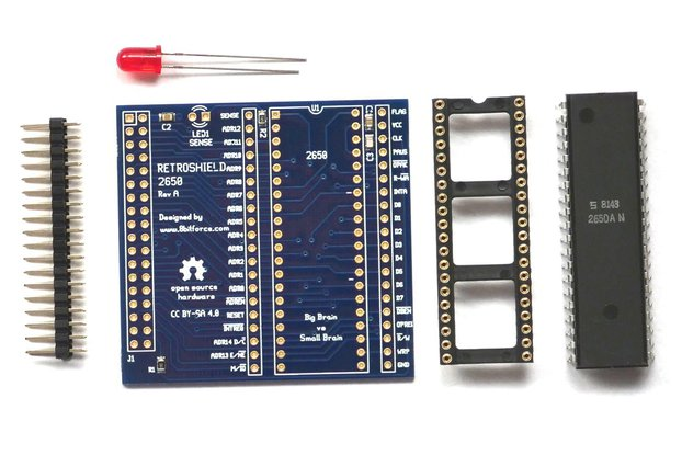RetroShield 2650 for Arduino Mega