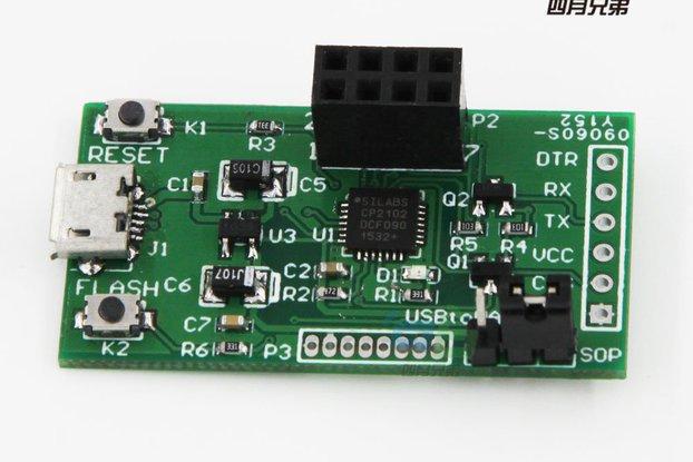ESP8266 Flasher Rev2