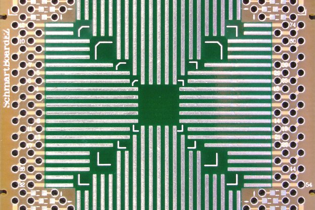 "PLCC  2x 2"" Grid EZ Version 20-84 Pins 0.05"" Pitch"