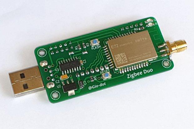 Z-Bee Duo. Hybrid CC2652P zigbee 3.0 adapter