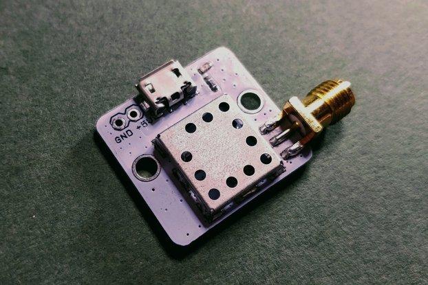 10 MHz Oscillator TCXO 10 MHz +/- 0.28 ppm