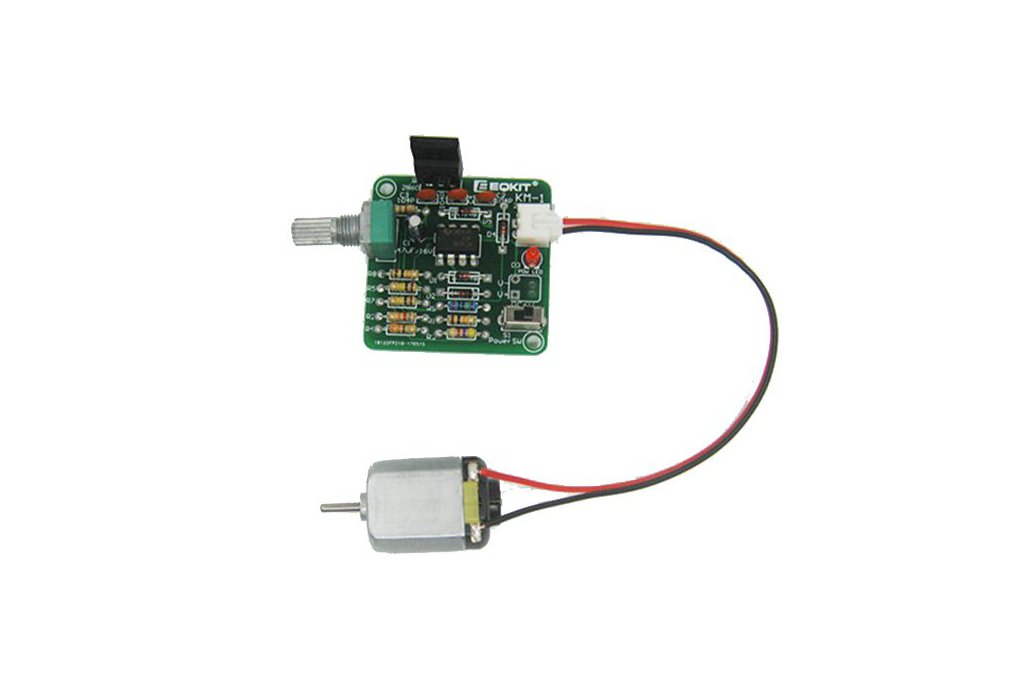 DIY DC Motor Driver Speed Controller Board(12233)