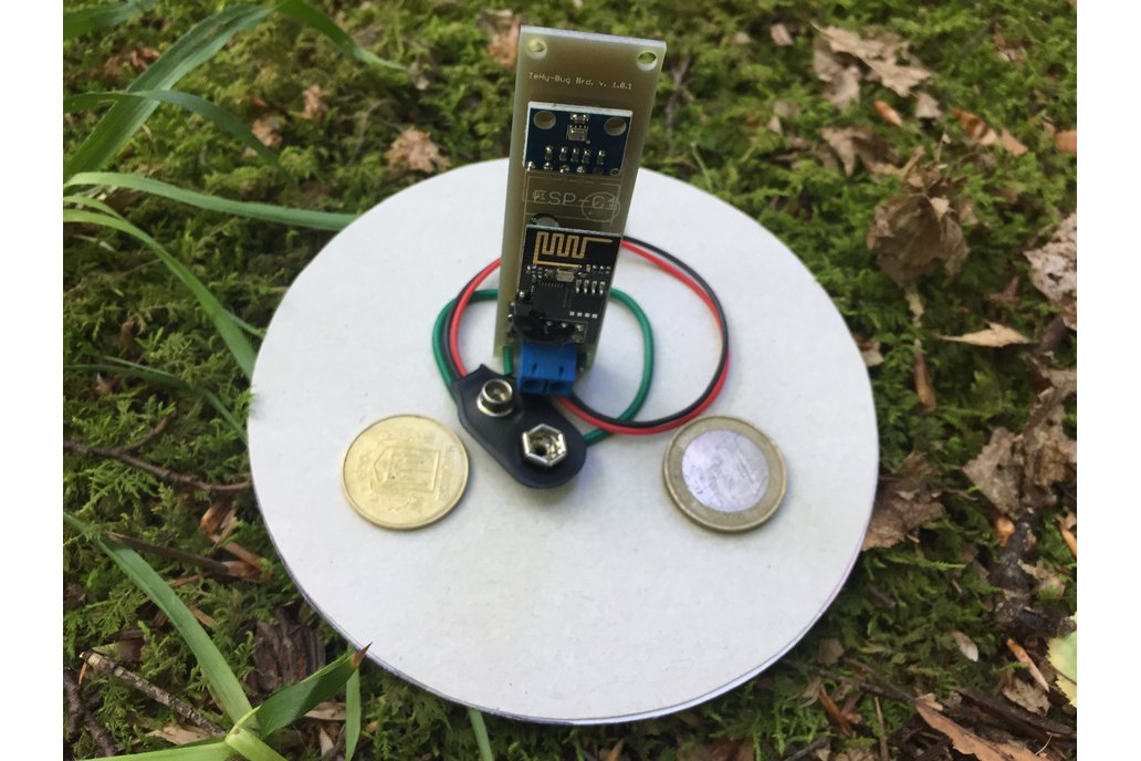 Low Power Temperature and Pressure WiFi tracker s3 2