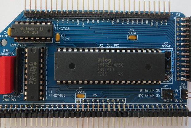 SC103 Z80 PIO Module Kit for RC2014