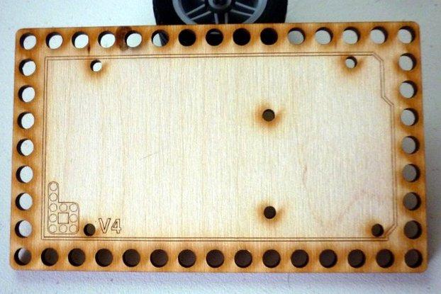 Bricktronics Arduino Mega Mounting Plate