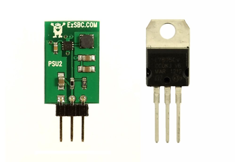 5V 1A Switch-Mode Voltage Regulator 1