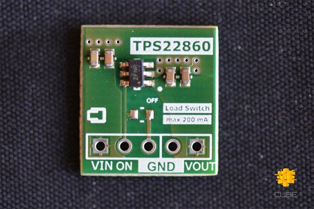 TPS22860 Ultra-Low Leakage Load Switch
