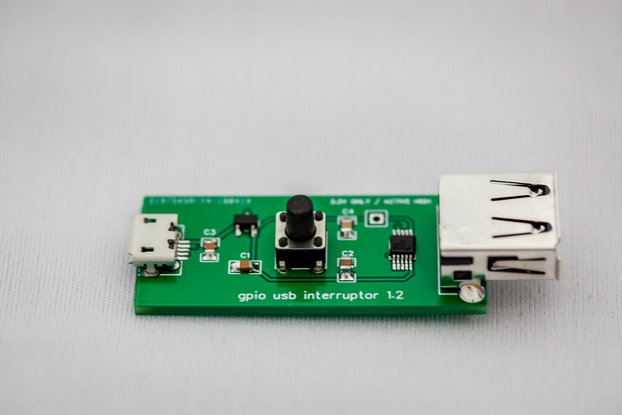 GPIO USB signal wedge - D+/D- interruptor