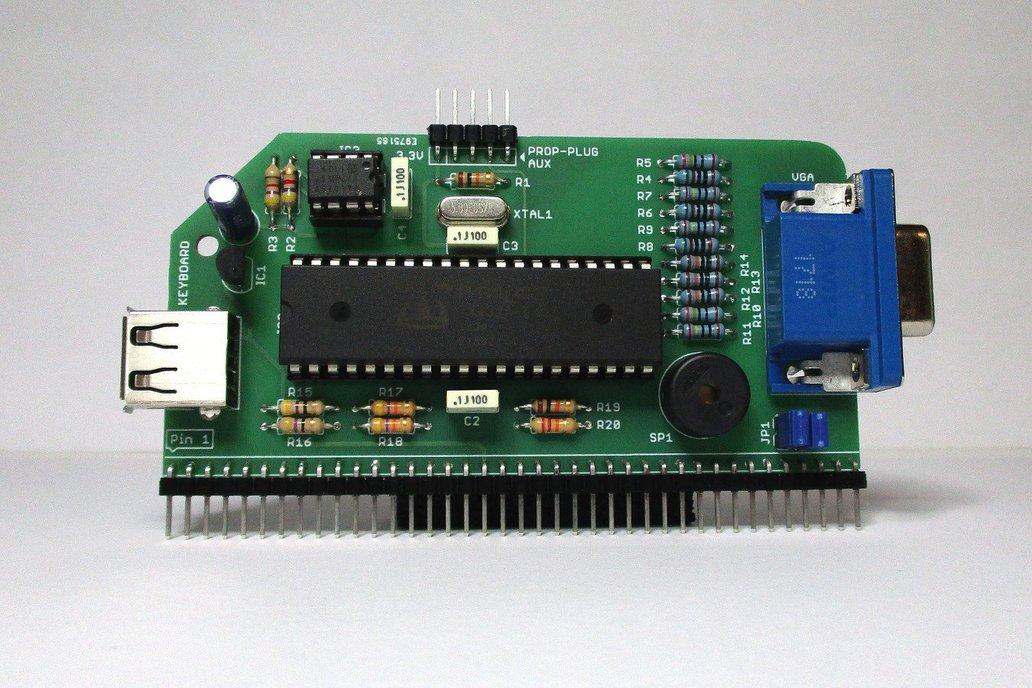 VGA Serial Terminal Kit for RC2014 1