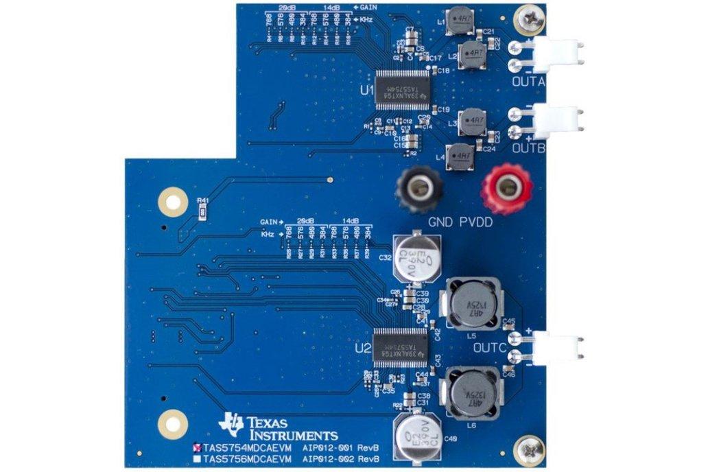 TI TAS5754M evaluation module 1