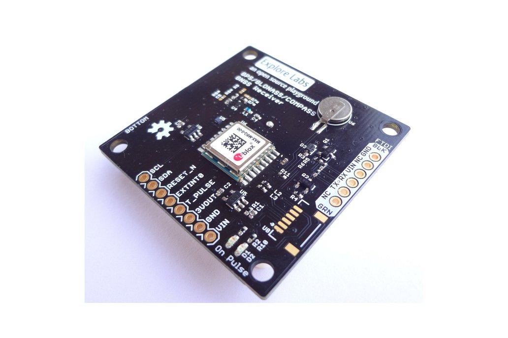 GPS Receiver - ublox MAX-M8Q (72 Channel) 1