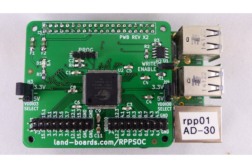 Programmable System on a Chip for the Raspberry Pi 2