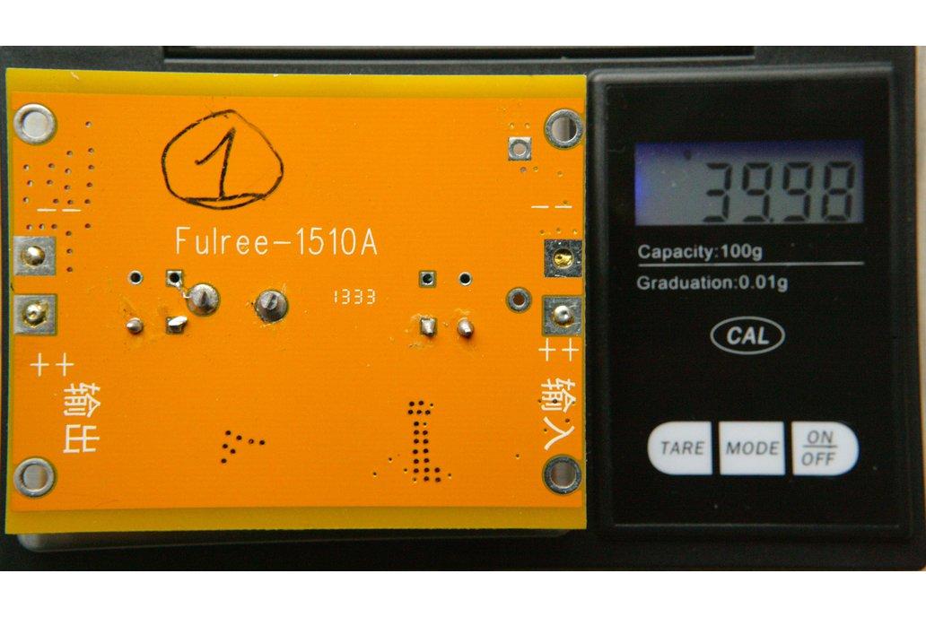 Fulree 1510A buck step down converter 12V to 5V DC 1