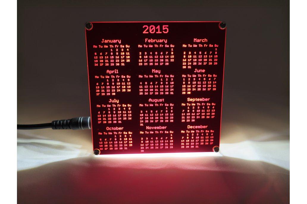 Backlight Stand for PCB Calendar 3