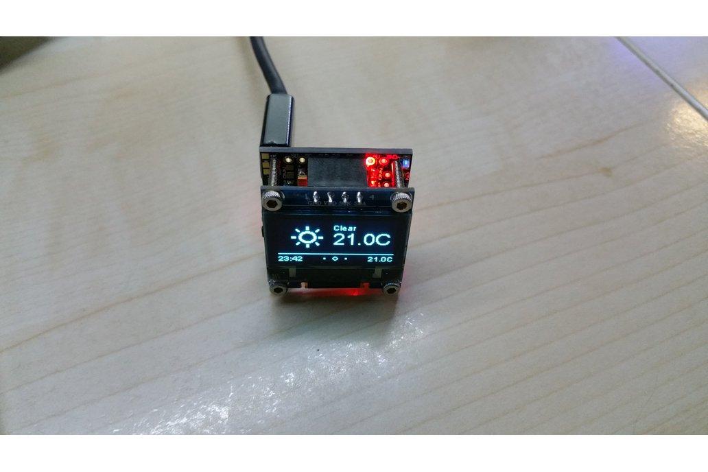 OLEDiESP a Tiny Cube with ESP07 / ESP12 + OLED IoT 1
